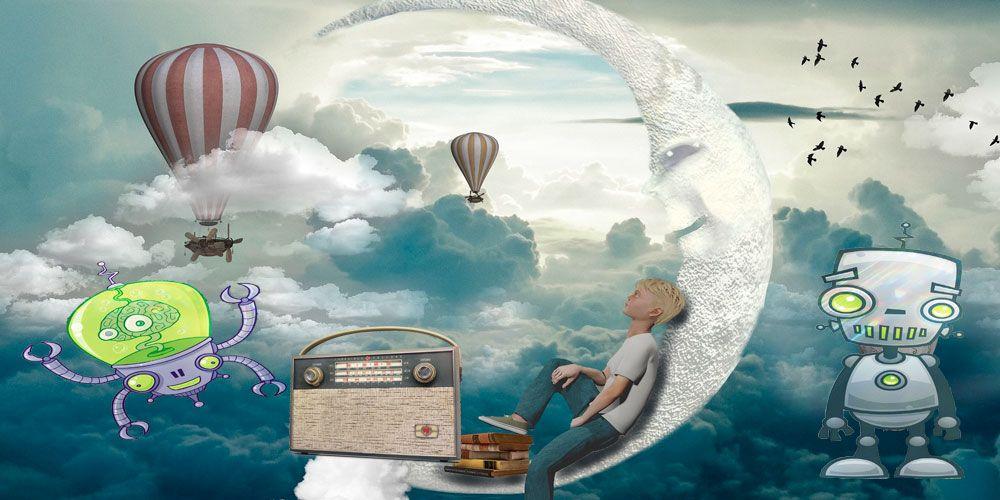 La radio d elos sueños, un cuento para niños sobre las pesadillas