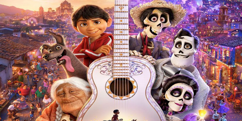 El cuento de Coco basado en la película de Pixar