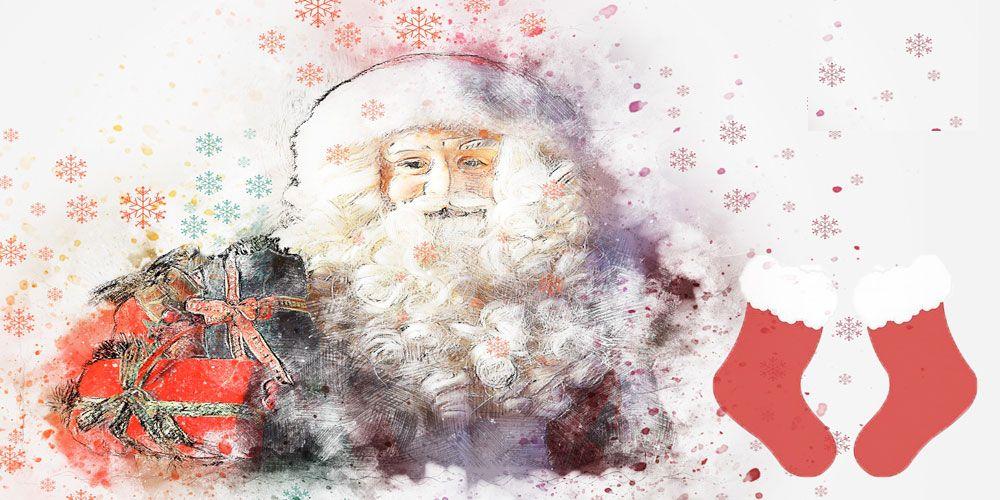 Los calcetines de Santa Claus, una leyenda de Navidad para niños