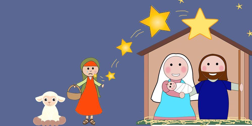 Leyenda navideña para niños: la estrella de Belén