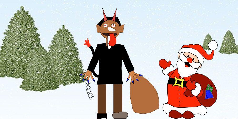 Leyenda de Navidad para niños: Krampus, el ayudante de Santa Claus