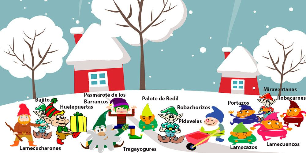 Leyenda navideña para los niños: los 13 hombrecillos de la Navidad