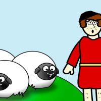 Fábula del pastor mentiroso. Fábula de Esopo para niños