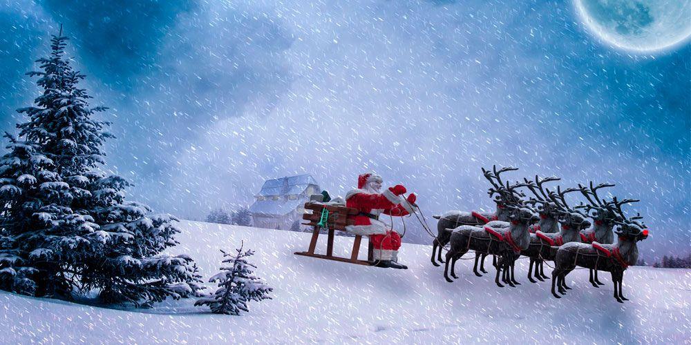 Cuento de Navidad para niños: LOs nueve renos de Santa Claus