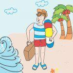 Cuento infantil para las vacaciones
