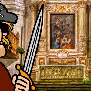 El altar de oro. Leyenda de piratas para niños