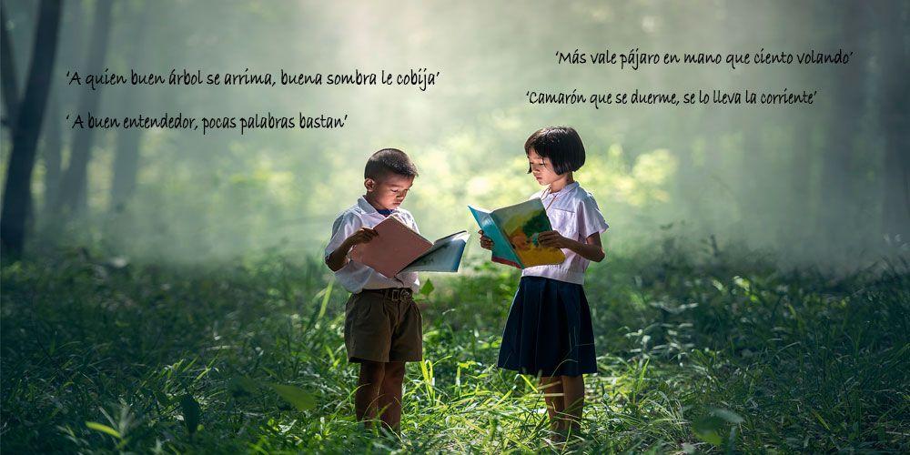 Refranes españoles para niños