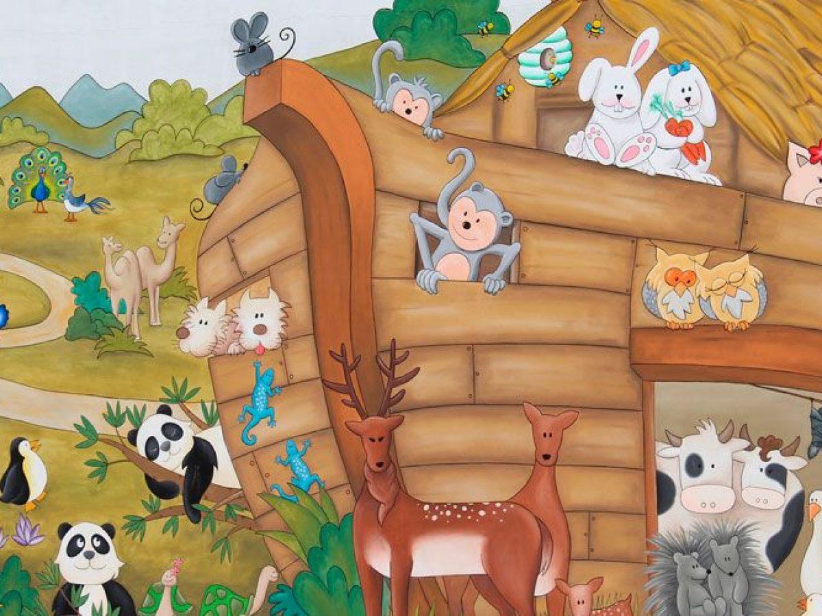 El Arca De Noe Historia Biblica Para Ninos Tucuentofavorito Com