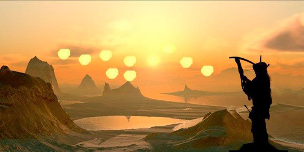 Leyenda sobre el origen del sol