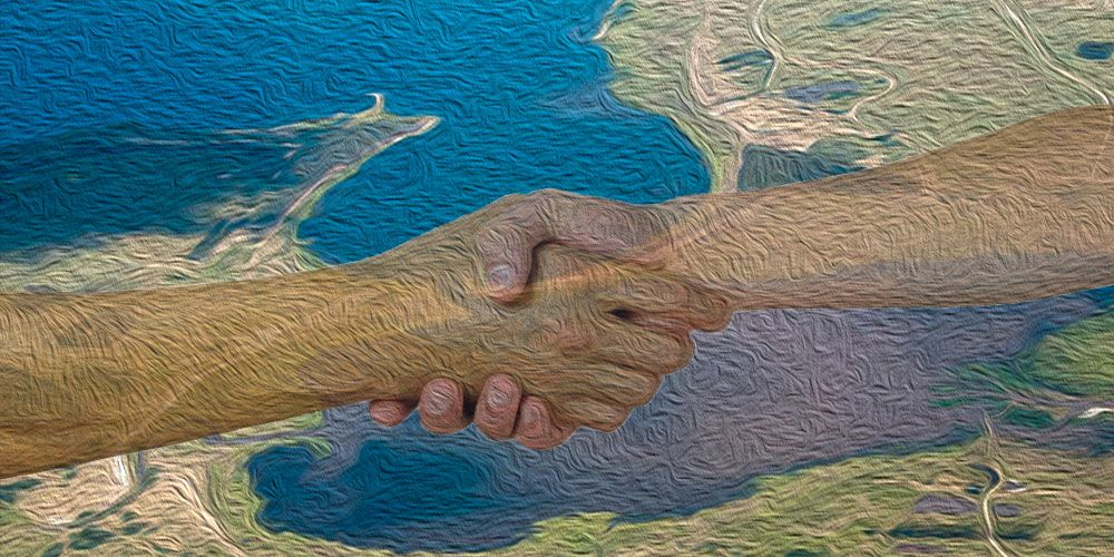 Leyenda de Uruguay: Las dos lagunas