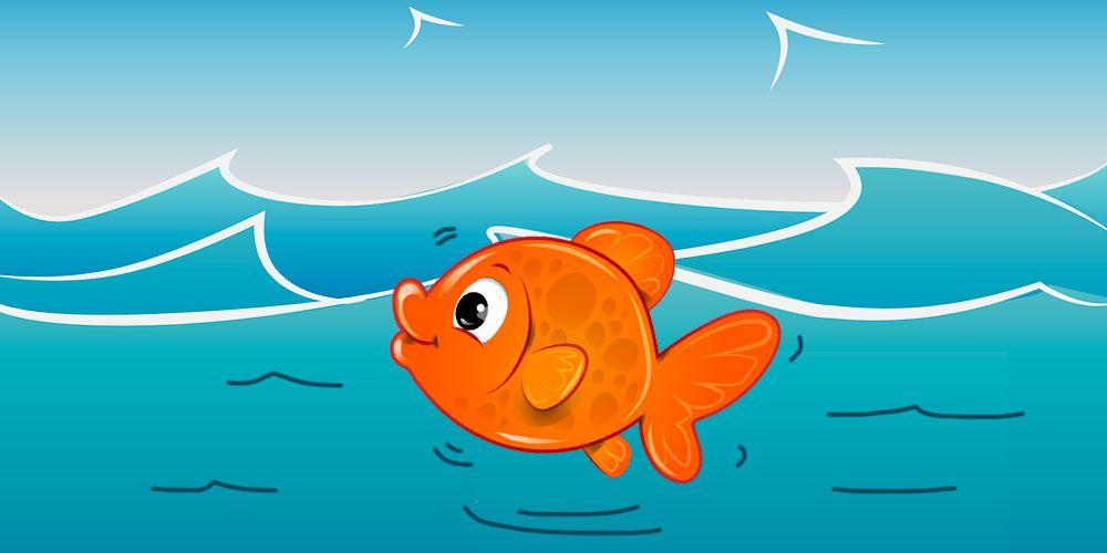 Canción para niños: en el agua clara