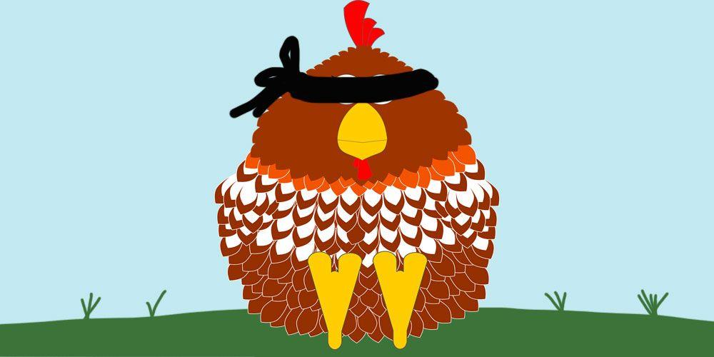 poesías de Gloria Fuertes para los niños: La gallinita ciega