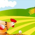 El gallo y la perla, una fábula corta para niños