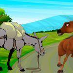 Una fábula sobre la soberbia: El caballo y el asno