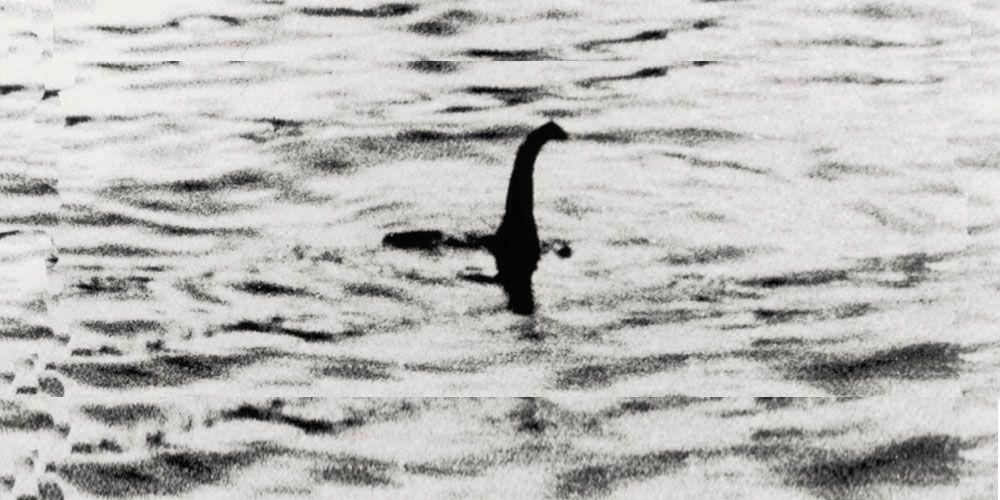 Fotografía de Nessie, el monstruo del Lago Ness