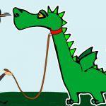 El dragón, el hombre y la zorra, una fábula de Esopo sobre la gratitud
