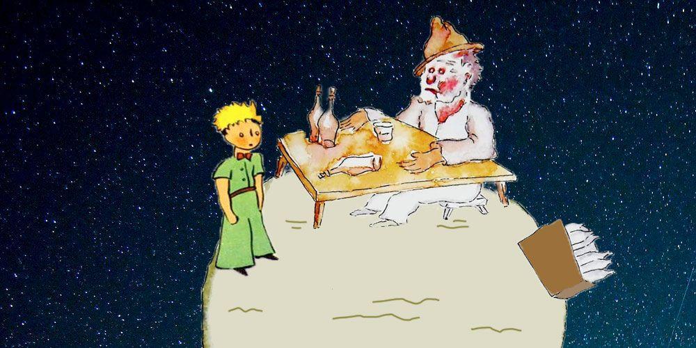 El Principito y el bebedor, un cuento sobre las adicciones