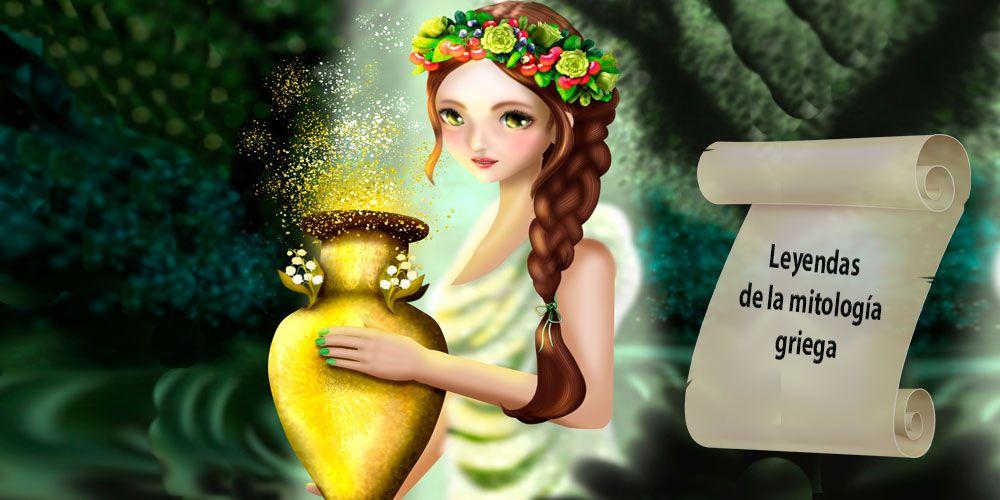 Leyendas de la mitología griega para niños