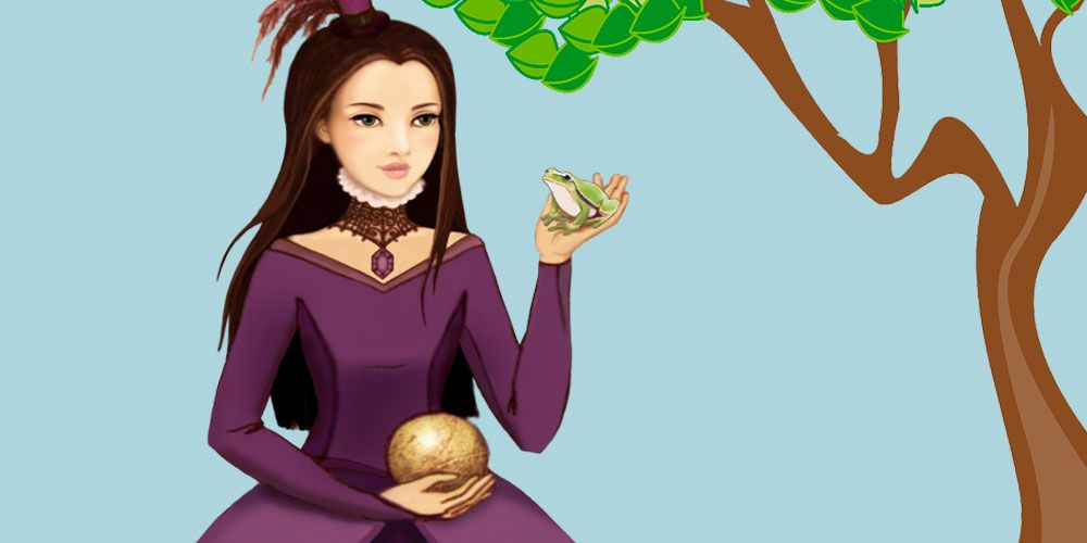 La princesa y la rana, un cuento de los Hermanos Grimm para los niños