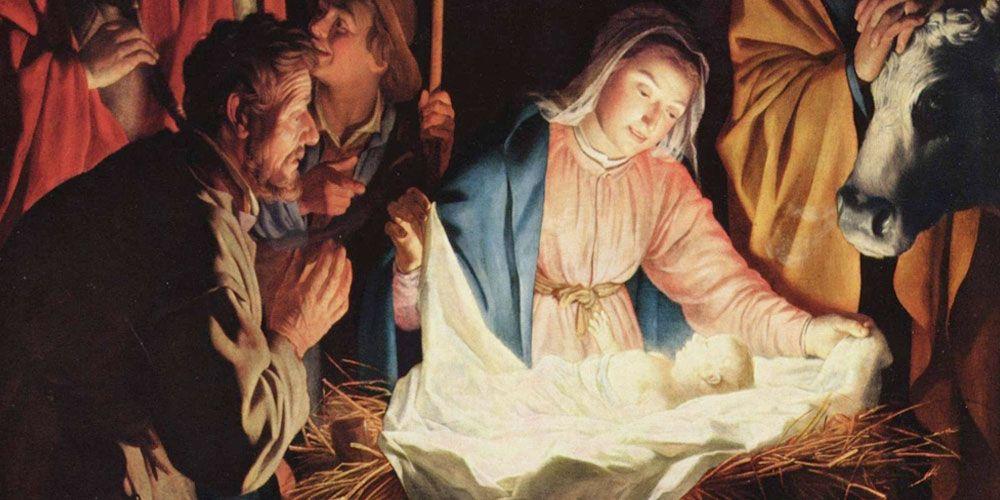 Jesús el dulce viene, poesía de Navidad para niños