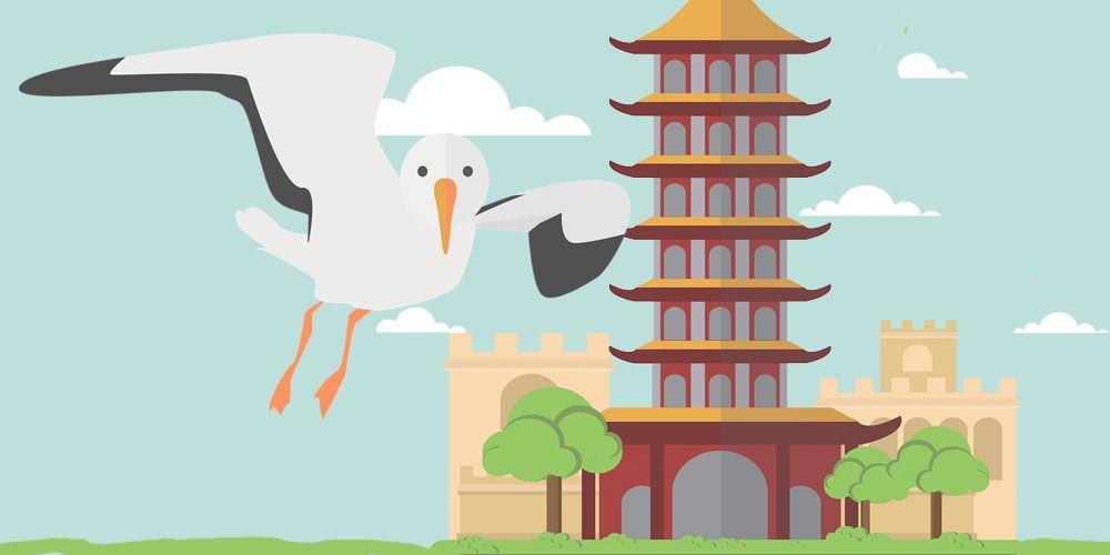 El pájaro víctima de la bondad, una fábula china sobre la empatía