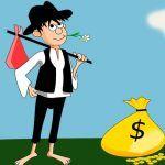 El pobre y las riquezas, una fábula con valores