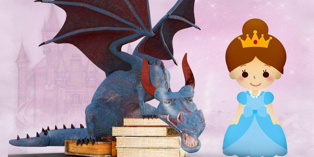 La princesa encantada, un cuento infantil con valores