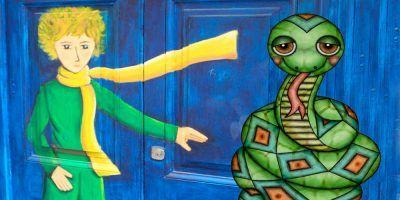 El Principito y la serpiente