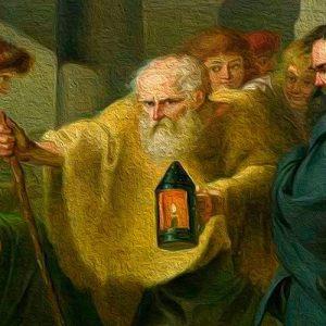 Diógenes y el esclavo. Fábula sobre la bondad