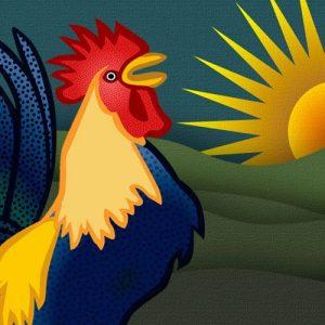 Por qué los gallos cantan de día. Leyenda filipina para niños