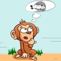 El mono y los pescadores. Una fábula corta sobre el aprendizaje