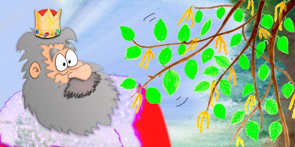 La hojita de abedul cantante y tintineante, cuento para niños con valores