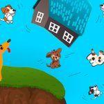 Diez perritos, poesía corta para niños
