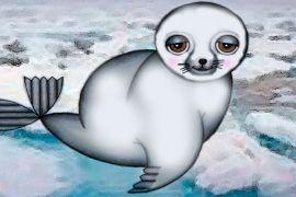 La foca blanca, poesía para niños de Rudyard Kipling