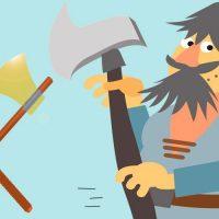 Hermes y el leñador. Fábula sobre la honestidad para niños