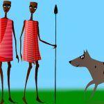 Por qué los perros viven con las personas, una leyenda de Benín