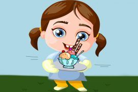 Una divertidísima poesía de Elsa Bornemann para niños: Cuéntico bóbico para una niña aburrídica