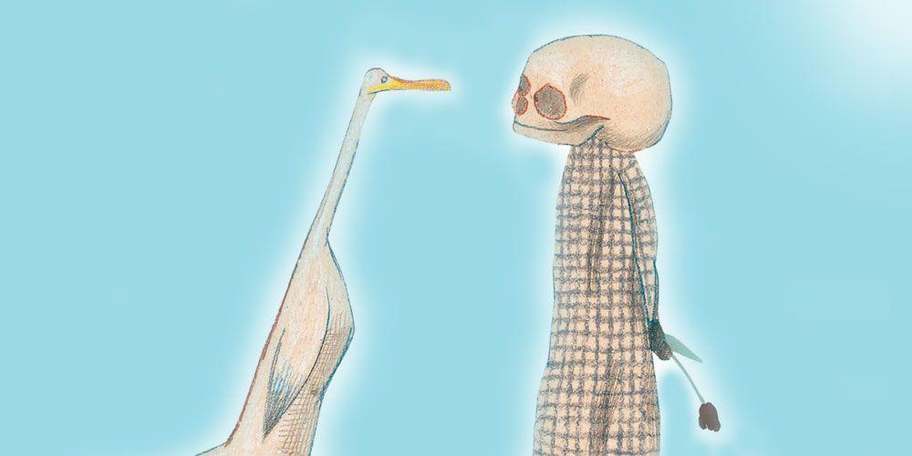 Cuento y reflexiones de El pato, la muerte y el tulipán