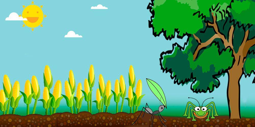 Obra de teatro de La cigarra y la hormiga