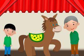 Guión de la obra de teatro: El señor, el niño y el burro