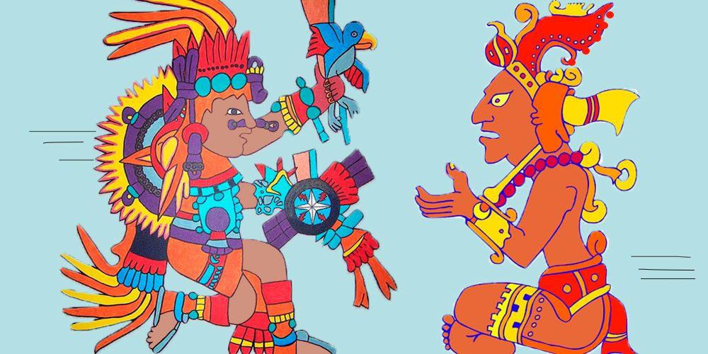 leyenda maya de la creación del hombre