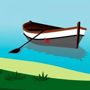 La marca de la barca. Fábula china para adolescentes y adultos