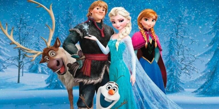 Cuento basado en la película de frozen