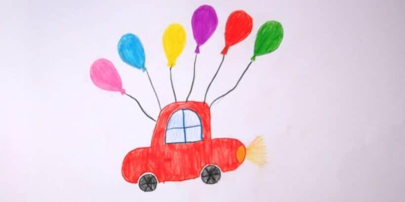 El cuento para niños Los globos de Tomás, sobre la conquista de los sueños
