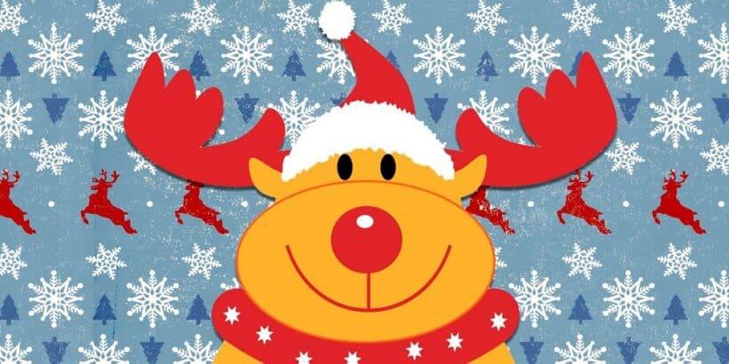 La historia del reno Rudolph para niños