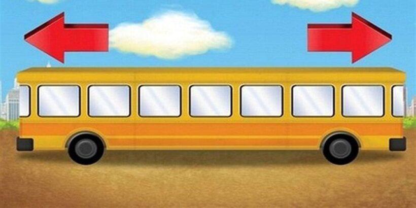 Acertijo del autobús para niños