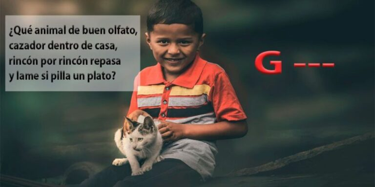 Adivinanzas para niños con la letra G