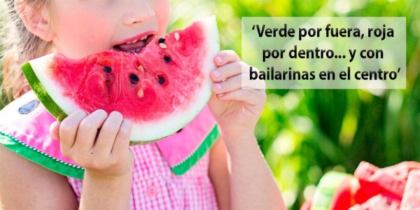 Adivinanzas para niños para el verano