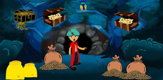 El cuento de Alí Babá y los cuarenta ladrones para niños