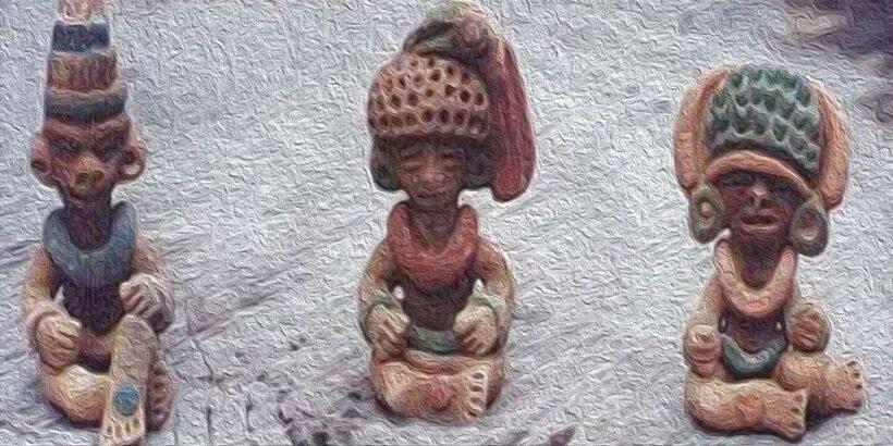 Leyenda maya de duendes aluxes para los niños
